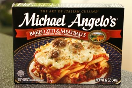 Michael Angelo's Baked Ziti and Meatballs