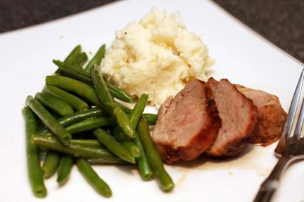 cook in bag pork loin filet instructions
