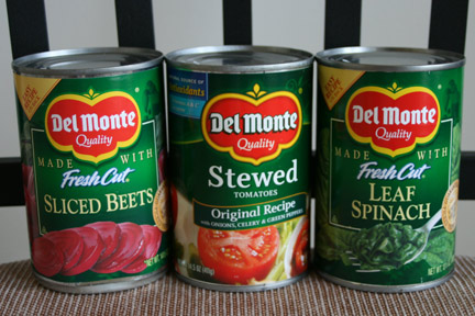 Del Monte Canned Goods