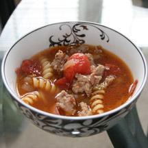 Del Monte Sausage Pasta Soup