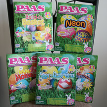PAAS Easter Egg Decorating Kits