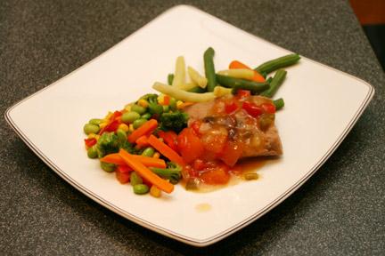 Bistro MD Pork with Papaya Sauce