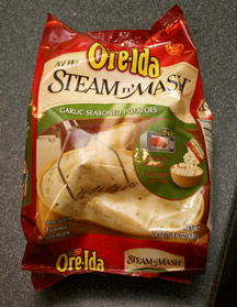 Ore-Ida Steam n' Mash Bag
