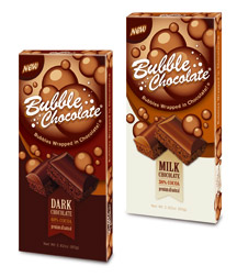 Bubble Chocolate bars