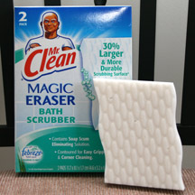 Mr Clean Magic Eraser Bathroom Scrubber. Mr Clean With Febreze Scent  Cleaners Review