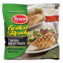 Tyson Grilled & Ready Whole Breast Fillet