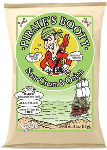 Pirate's Booty - Sour Cream & Onion