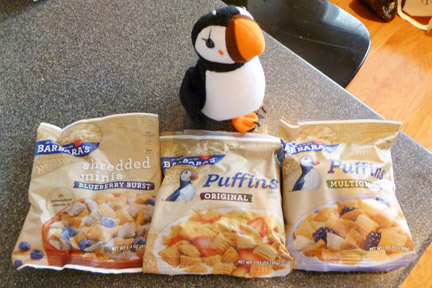 Barbara's Bakery Puffins Cereal