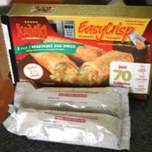 Kahiki Foods Vegetables Egg Rolls