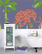 Wall Pops! Mabuza the Elephant