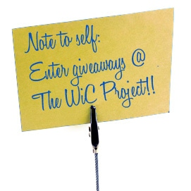 Enter Giveaways @ The WiC Project!