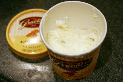 Graeter's Butter Pecan Ice Cream