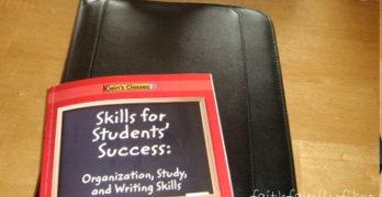 Skills for Students' Success: Organization, Study, and Writing Skills