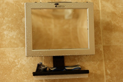 Toilet Tree Fogless Shower Mirror