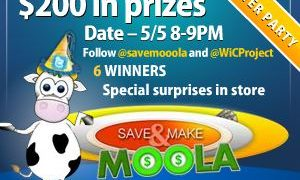 Save and Make Moola Twitter Party – May 5