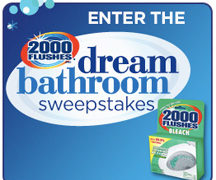 2000 Flushes Dream Bathroom Sweepstakes