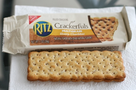 Ritz Crackerfuls Cracker Sandwich