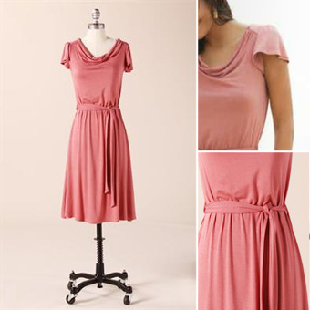 DownEast Basics Pretty Parisian Dress