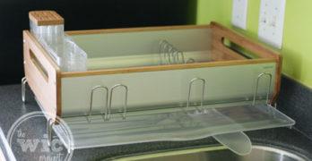 simplehuman Bamboo Frame Dishrack