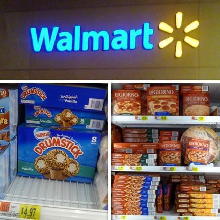 Walmart, Drumsticks, DiGiorno