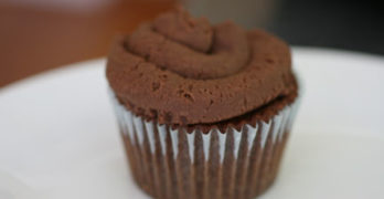 Mix Master Miriam vs. Chocolate Nutella Cupcakes (Recipe)