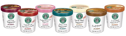 Starbucks Ice Cream