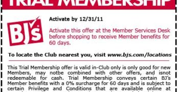 BJ's Trial Membership