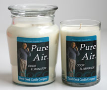 David Oreck Pure Air Candles