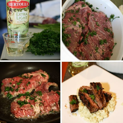 Cooking with Bertolli Olive Oil