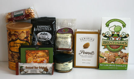 Gourmet Gift Basket Snacks