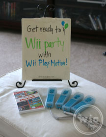 Wii Party Welcome
