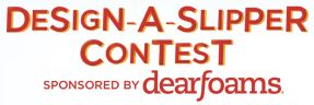 Dearfoam Design-A-Slipper Contest