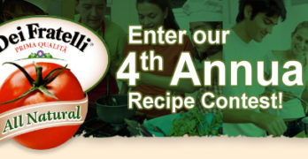 Win a Year's Worth of Dei Fratelli Tomato Products!