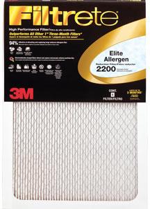 Filtrete Elite Allergen Reduction filter