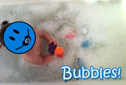 Kid's Magic Bubble Bath