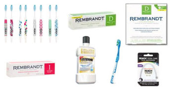 REACH, REMBRANDT, LISTERINE Products
