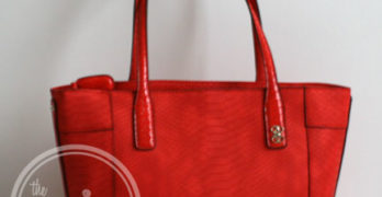Guess CONFESSIONS Red Carryall