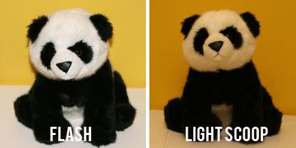 Lightscoop Comparison - Flash