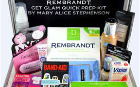 REMBRANDT Get Glam Quick Prep Kit