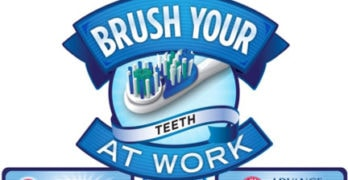 National Brush Your Teeth At Work Day