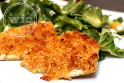 Caesar Crusted Chicken