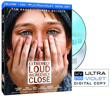 Extremely Loud and Incredibly Close on Blu-ray and DVD