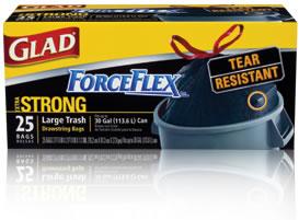 Glad ForceFlex Black Bags
