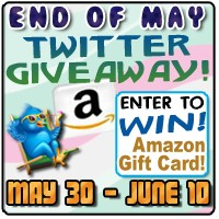 End of May Twitter Giveaway
