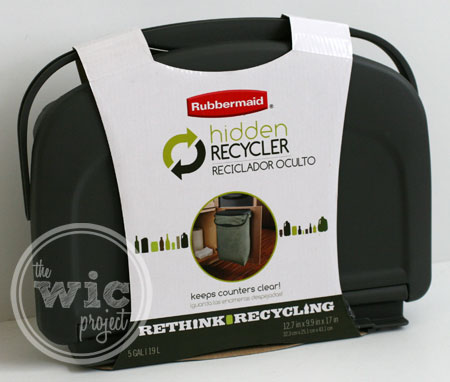 Rubbermaid Hidden Recycler