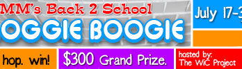 2012 Back 2 School Bloggie Boogie Blogger Sign-ups