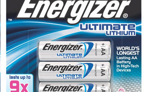 The Ultimate Battery Life with Energizer Ultimate Lithium Batteries