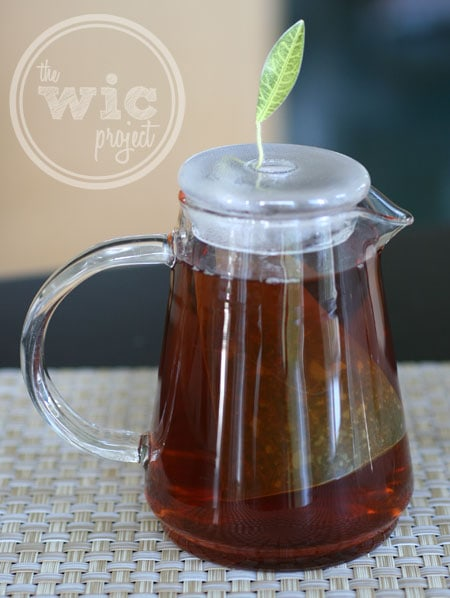 Tea Forte Tea-Over-Ice Brewing Pitcher