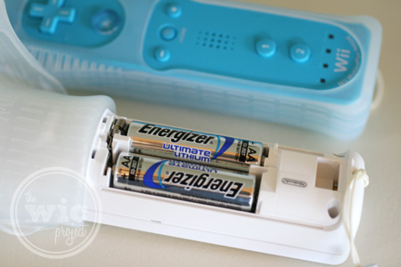 Energizer Ultimate Batteries in Wii Controller