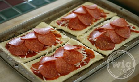 Crescent Pizza Pocket Filling